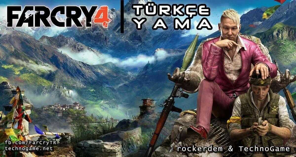 Far Cry 4 Türkçe Yama