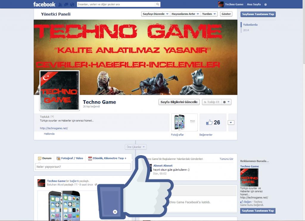 TechnoGame- Facebook