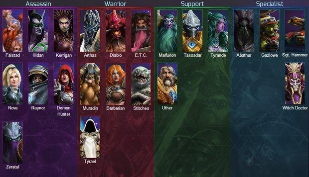 Heroes of storm hero
