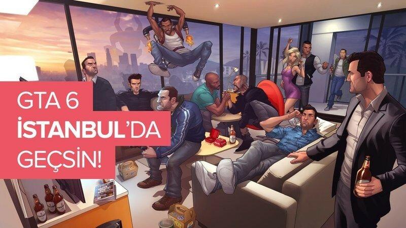 Gta 6'n?n Istanbul'da Gecmesi Icin Imza Kampanyas? Baslat?ld?