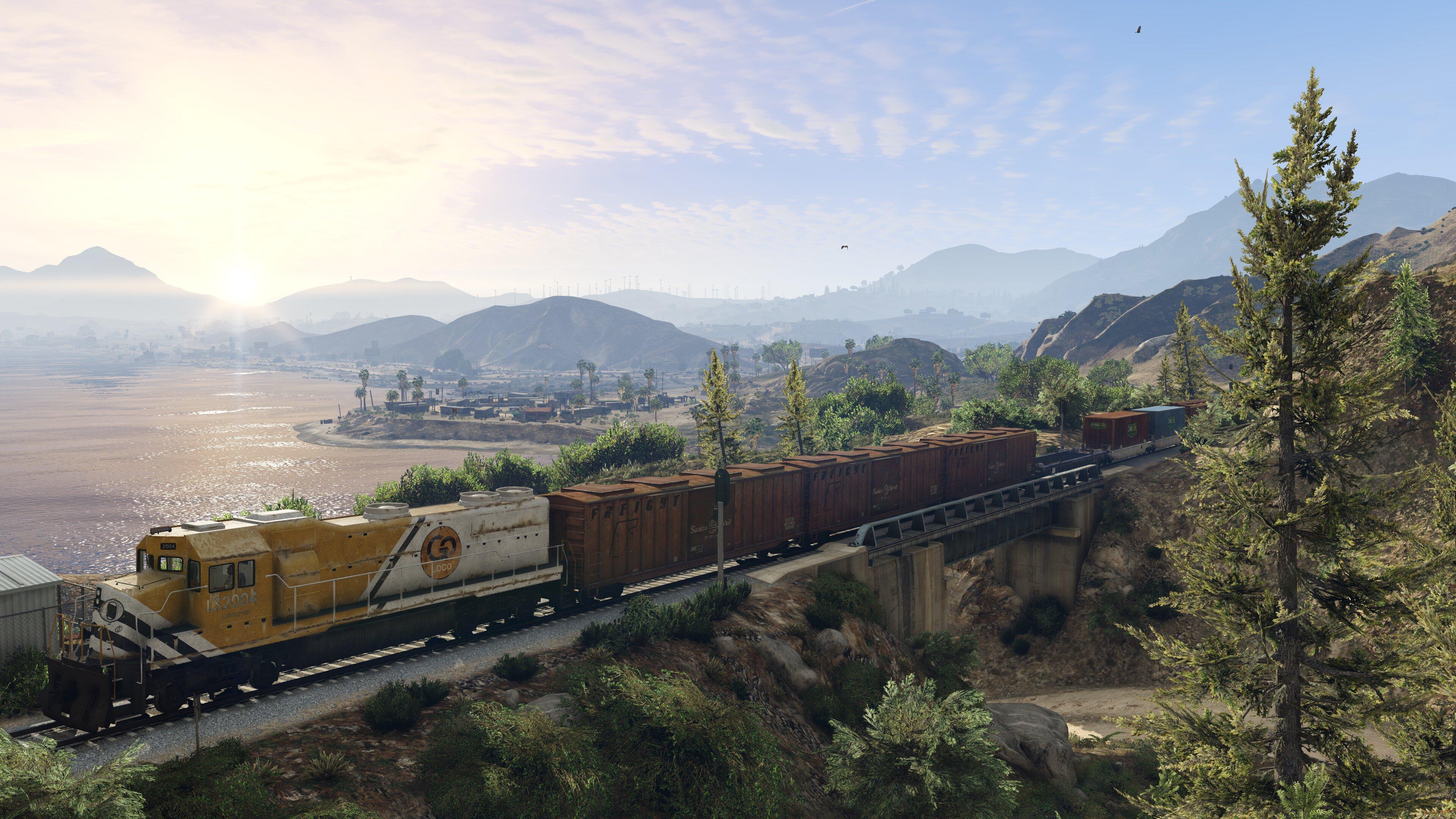 Grand Theft Auto V PC' den Görüntüleri Yayınlandı !