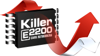 Killer™ E2200 Game Networking